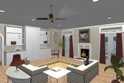 Southern Style House Plan - 3 Beds 2.5 Baths 2337 Sq/Ft Plan #44-154 Photo