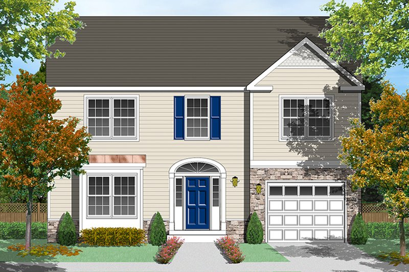 Traditional Exterior - Front Elevation Plan #1053-76