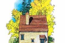 Craftsman Exterior - Rear Elevation Plan #1016-66