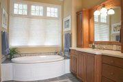 Colonial Style House Plan - 5 Beds 4.5 Baths 4852 Sq/Ft Plan #928-298 Interior - Master Bathroom