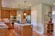 Craftsman Style House Plan - 4 Beds 2.5 Baths 2770 Sq/Ft Plan #132-121 Interior - Kitchen