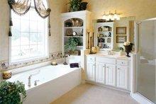 Home Plan - Mediterranean Interior - Master Bathroom Plan #927-141