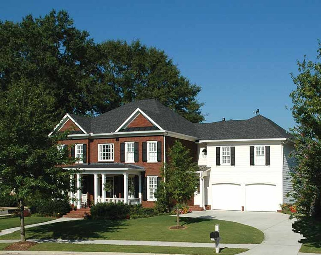 Colonial style house plan 5 beds 4 baths 3916 sq ft plan for 429 plan