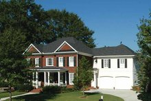 Home Plan Design - Colonial Exterior - Front Elevation Plan #429-323