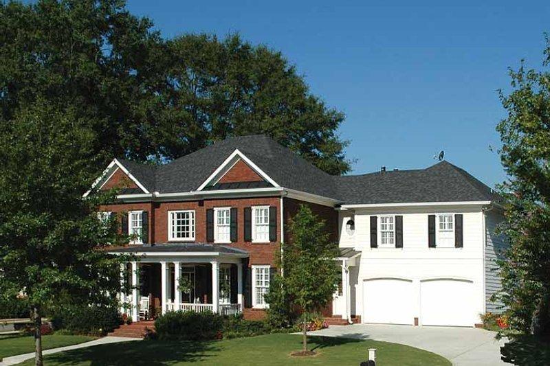 Colonial Exterior - Front Elevation Plan #429-323 - Houseplans.com