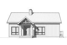 House Plan Design - Contemporary Exterior - Front Elevation Plan #23-2739