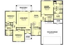 European Floor Plan - Main Floor Plan Plan #430-62