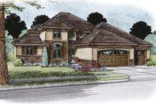 Home Plan - European Exterior - Front Elevation Plan #20-2245