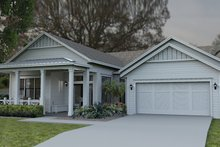 House Plan Design - Colonial Exterior - Front Elevation Plan #1058-148