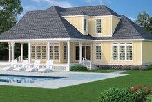 Traditional Exterior - Rear Elevation Plan #45-569