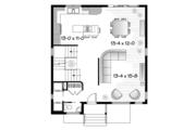 Contemporary Style House Plan - 3 Beds 1.5 Baths 1670 Sq/Ft Plan #23-2583 Floor Plan - Main Floor