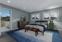 Home Plan - Craftsman Interior - Master Bedroom Plan #1060-66