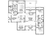 Floor Plan - Main Floor Plan Plan #45-570
