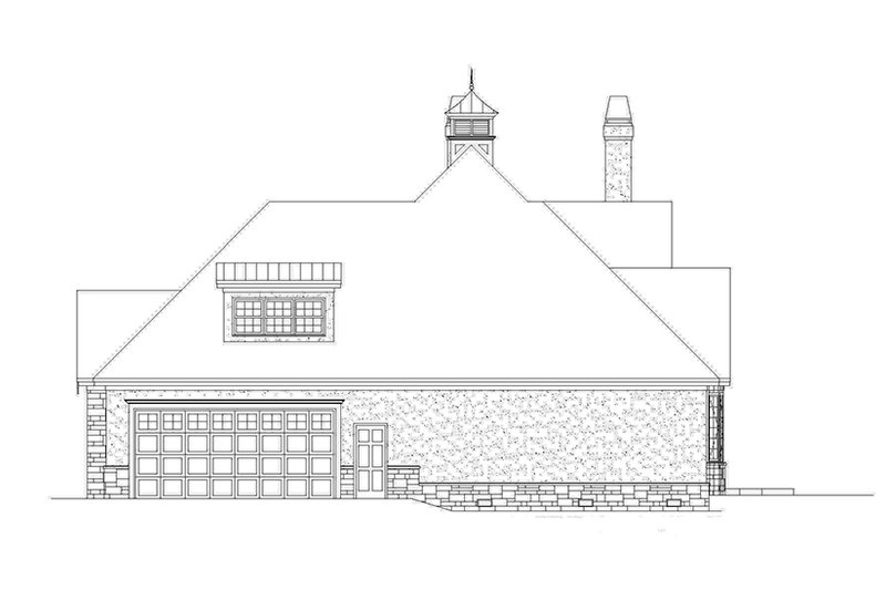 Country Exterior - Other Elevation Plan #929-957 - Houseplans.com