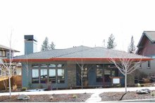 Architectural House Design - Prairie Exterior - Front Elevation Plan #895-70