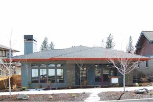 Dream House Plan - Prairie Exterior - Front Elevation Plan #895-70