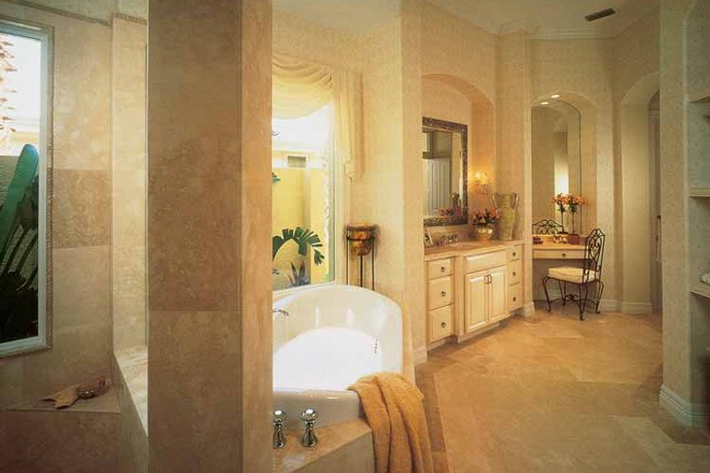 Mediterranean Interior - Bathroom Plan #930-189 - Houseplans.com