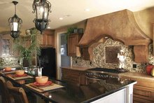 Architectural House Design - Contemporary Interior - Kitchen Plan #11-273
