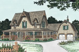 Gothic Revival Home Plans At Eplans