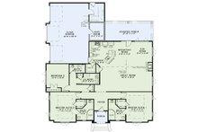 European Floor Plan - Main Floor Plan Plan #17-3388