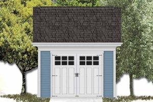 Dream House Plan - Exterior - Front Elevation Plan #306-123