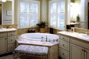 European Style House Plan - 4 Beds 3.5 Baths 4400 Sq/Ft Plan #132-168 Photo