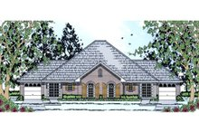 Traditional Exterior - Front Elevation Plan #42-378
