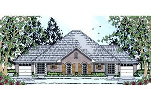 House Design - Traditional Exterior - Front Elevation Plan #42-378
