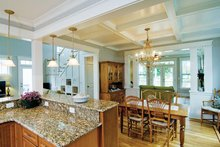 Architectural House Design - Country Interior - Dining Room Plan #929-518