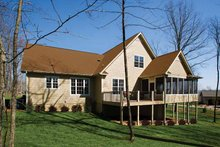 Dream House Plan - Country Exterior - Rear Elevation Plan #929-701