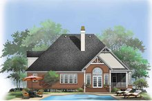 Home Plan - Ranch Exterior - Rear Elevation Plan #929-758