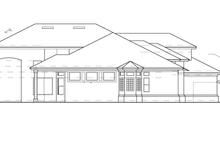 House Plan Design - Mediterranean Exterior - Other Elevation Plan #417-530