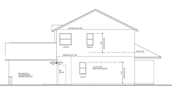 Traditional Floor Plan - Other Floor Plan Plan #1058-21