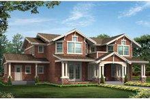 Craftsman Exterior - Front Elevation Plan #132-475