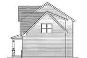 Colonial Style House Plan - 3 Beds 2.5 Baths 1775 Sq/Ft Plan #1010-14 Exterior - Other Elevation