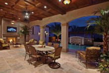 House Plan Design - Mediterranean Interior - Other Plan #1058-1