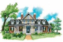Architectural House Design - Victorian Exterior - Front Elevation Plan #930-215