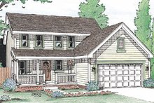 Traditional Exterior - Front Elevation Plan #20-2032
