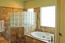 Mediterranean Interior - Master Bathroom Plan #80-142