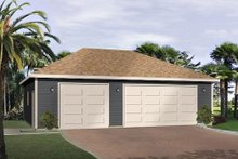House Plan Design - Traditional Exterior - Front Elevation Plan #22-554