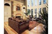 European Style House Plan - 4 Beds 4.5 Baths 4376 Sq/Ft Plan #54-111