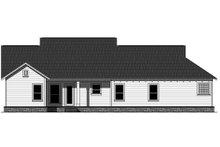Dream House Plan - Craftsman Exterior - Rear Elevation Plan #21-364
