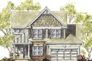Bungalow Exterior - Front Elevation Plan #20-1230