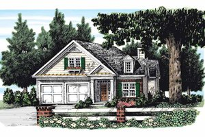 Home Plan Design - Classical Exterior - Front Elevation Plan #927-268