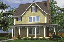 Country Exterior - Front Elevation Plan #48-874