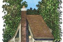 Victorian Exterior - Rear Elevation Plan #1016-79