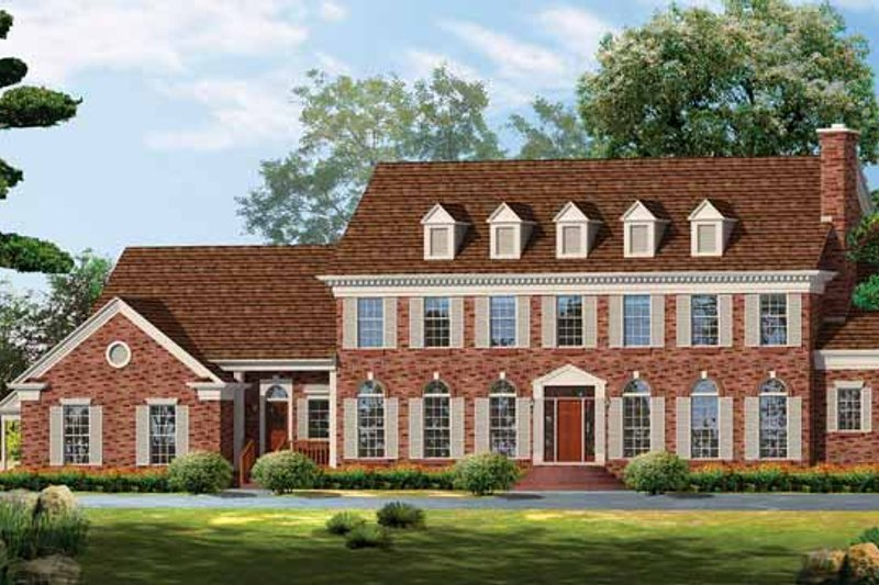 House Plan Design - Classical Exterior - Front Elevation Plan #72-857