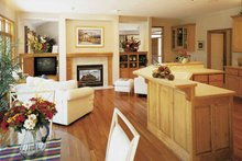 Home Plan - Traditional Interior - Kitchen Plan #320-917