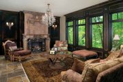 Tudor Style House Plan - 3 Beds 3 Baths 3586 Sq/Ft Plan #928-61 Interior - Family Room