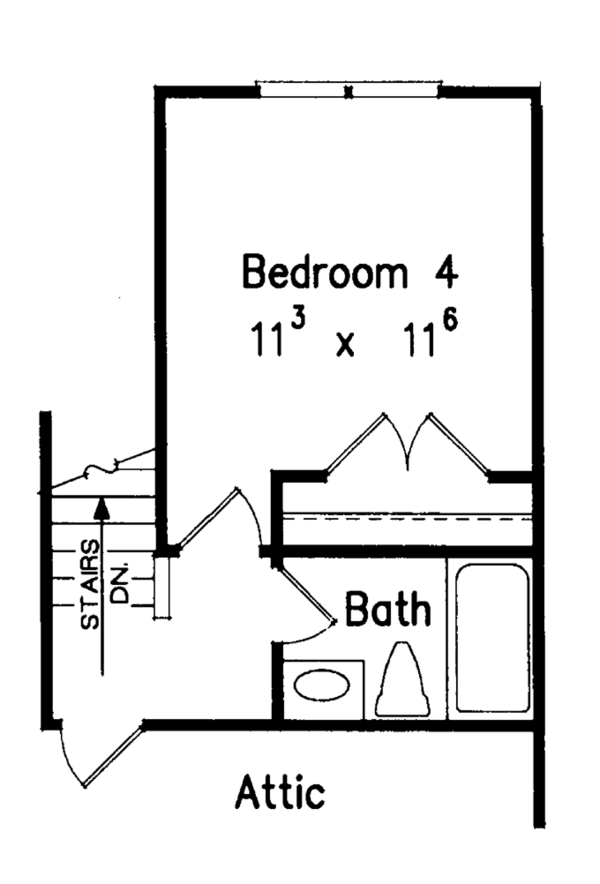 Classical Floor Plan - Other Floor Plan Plan #927-454